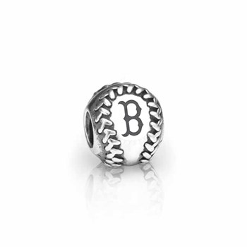 346608-PANDORA Boston Red Sox Baseball Charm RETIRED