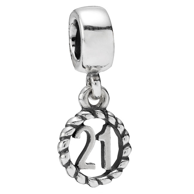 333190-PANDORA 21st Birthday Dangle