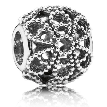 PANDORA Roses Openwork Charm *PANDORA Shop in Shop Exclusive*-347054
