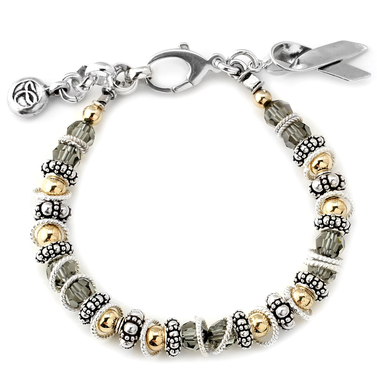 222389-Brain Cancer - Spectacular Awareness Bracelet