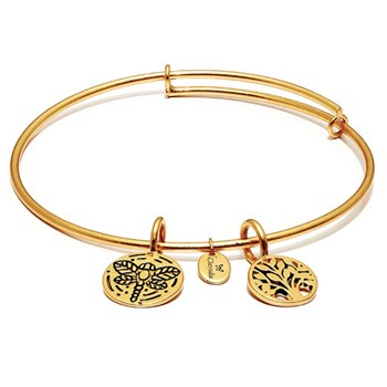 Tree of Life Gold Bangle