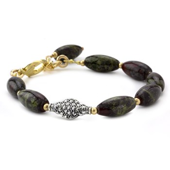 Lollies Dragon Blood Jasper Bracelet