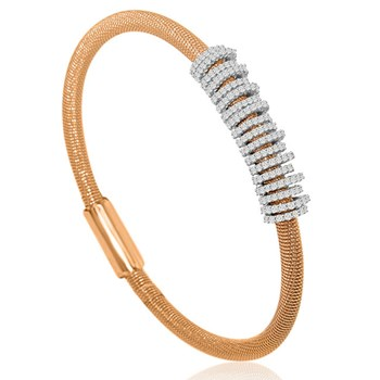 Rose Rings Bling Bangle-344918