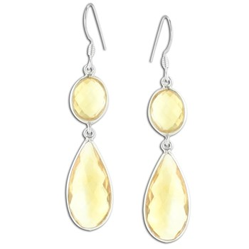 347416-Citrine Earrings