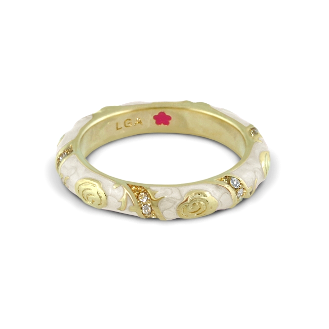 344203-Lauren G Adams Stackable Ring 'Fiesta' Design ONLY 1 LEFT!