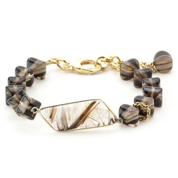 Lollies Smokey Quartz Bracelet 344651 ONLY 1 LEFT!