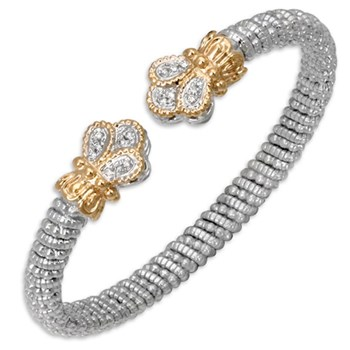 Crown Tip Diamond Bracelet-338589
