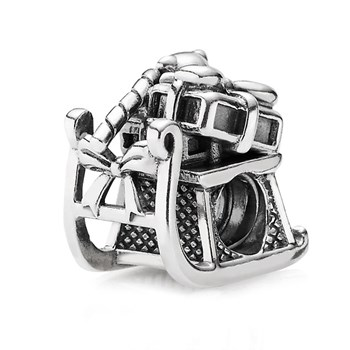 PANDORA Dashing Through the Snow Charm-344356 RETIRED