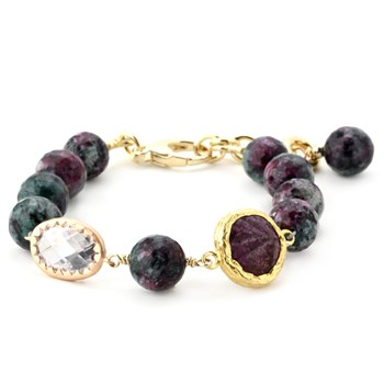 Lollies Ruby Zoisite Bracelet 346043