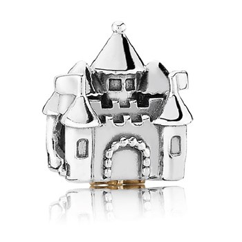 PANDORA Happily Ever After Castle Charm RETIRED
