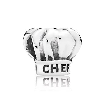 PANDORA I Love Cooking Chef Hat Charm RETIRED LIMITED QUANTITIES! 802-2862