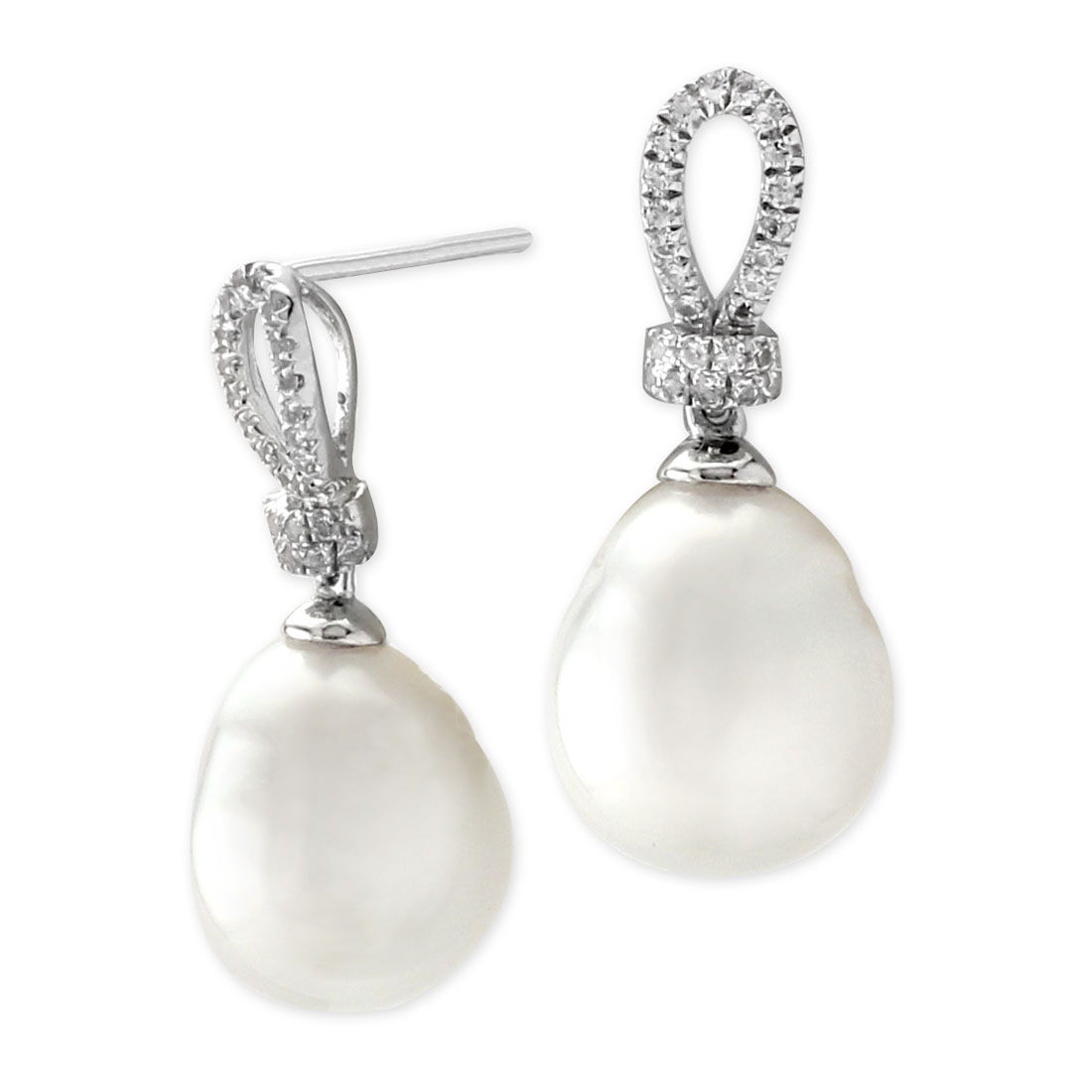 341476-South Sea Pearl and Topaz Earrings