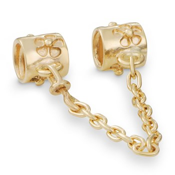 PANDORA 14K Flower Safety Chain-210447
