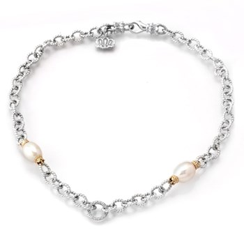 White Pearl Necklace-341282