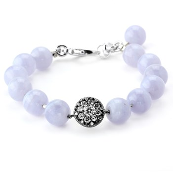 345436-Lollies Blue Lace Agate Bracelet