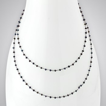 Mystic Onyx Single Necklace
