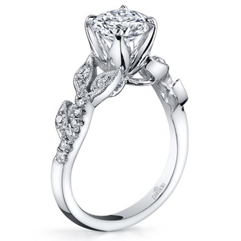 345266-Parade Vintage Design Diamond Ring