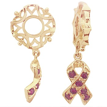 274876-Storywheels Ruby Awareness Dangle 14K Gold Wheel ONLY 5 AVAILABLE!