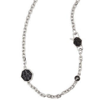 342314-Apex Spike Clasp & Sterling Silver Chain
