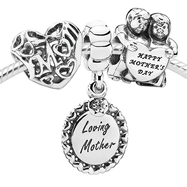 PANDORA Mother's Day Love Charm Set