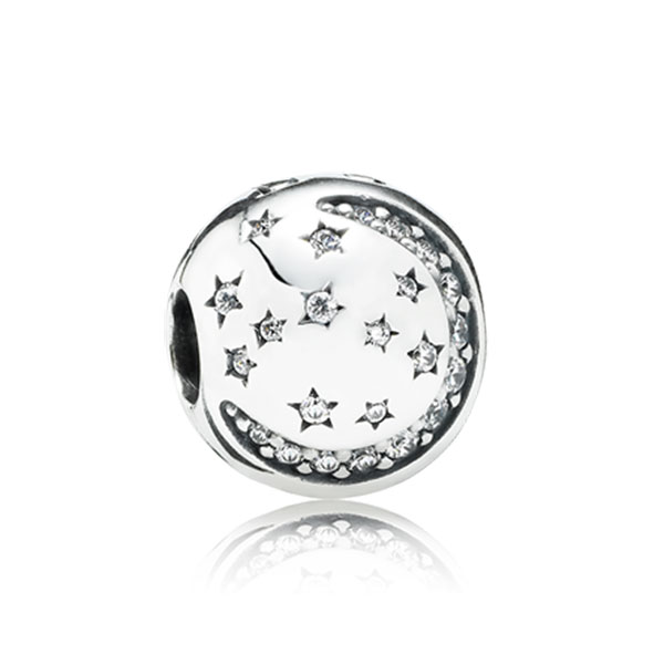 348143-PANDORA Twinkling Night with Clear CZ Clip