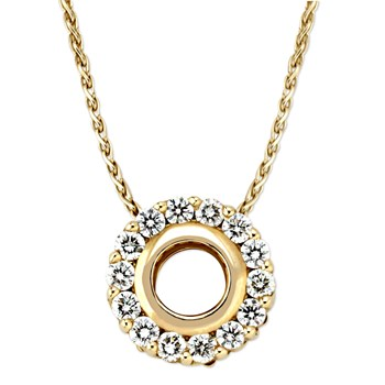 "Diamond ""Just Because"" Necklace-326223"