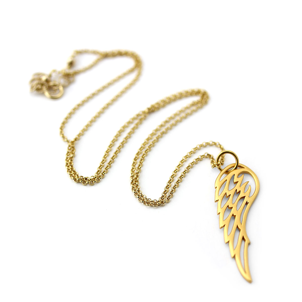 Lovely Wing Necklace-655-2928