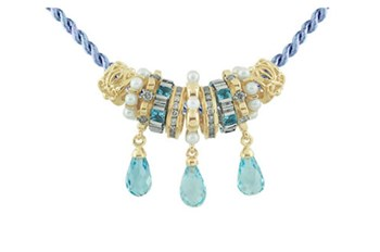 Storywheels True Blue Necklace-268554