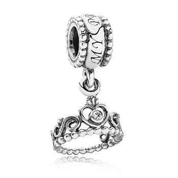PANDORA My Princess Crown with Clear CZ Dangle-342925