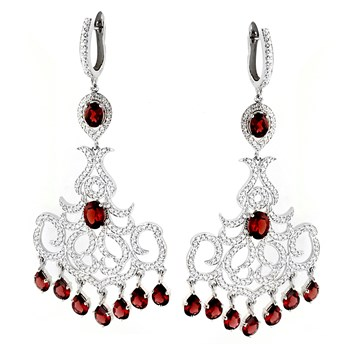 347228-Garnet Earrings
