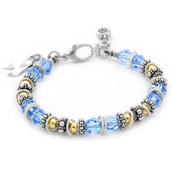 Prostate/Thyroid Cancer Spectacular Awareness Bracelet-217071