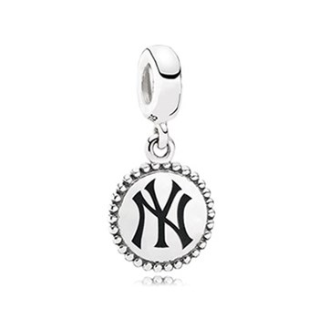 345404-PANDORA New York Yankees Baseball Charm RETIRED LIMITED QUANTITIES!