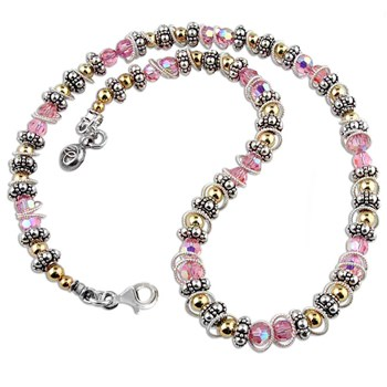 Spectacular Breast Cancer Necklace-175418