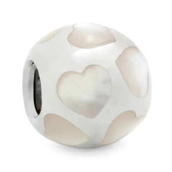 278638-PANDORA Love Me with White Mother of Pearl Charm