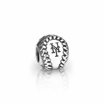 346622-PANDORA New York Mets Baseball Charm RETIRED