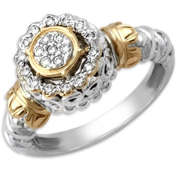 Stack Diamond Ring-340760