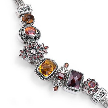 338691-Lori Bonn The Harvest Hottie Charm Bracelet LIMITED EDITION ONLY 3 LEFT!