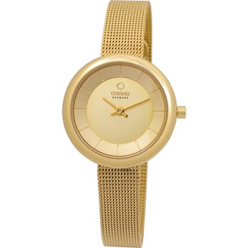 500-22-Women's Gold Mesh Stainless Steel Watch