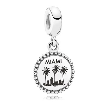 PANDORA Miami Traveler Dangle RETIRED ONLY 2 LEFT!