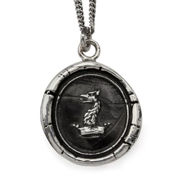 605-01180-Gryphon Head Talisman Necklace