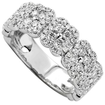 Diamond Floral Band-130-189