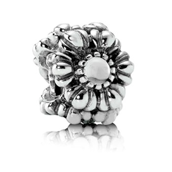 337211-PANDORA Birthday Bloom April with Quartz Charm RETIRED ONLY 4 LEFT!