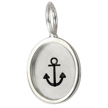 Small Oval Anchor Charm-342462