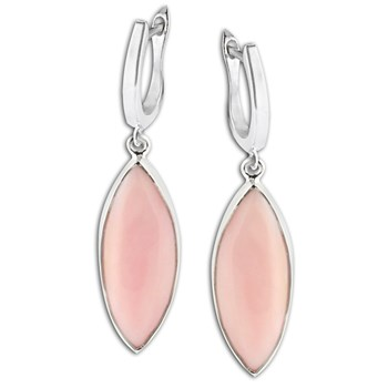 347412-Pink Opal Earrings