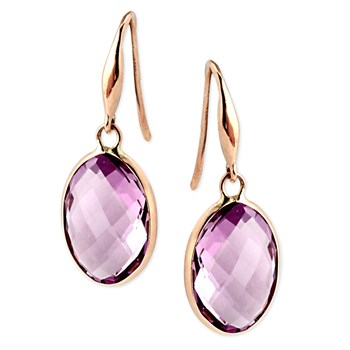 Amethyst Earrings-347186
