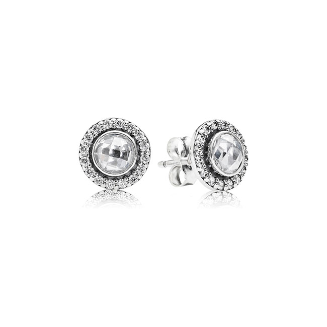 346526-PANDORA Brilliant Legacy with Clear CZ Stud Earrings