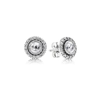 PANDORA Brilliant Legacy with Clear CZ Stud Earrings-346526