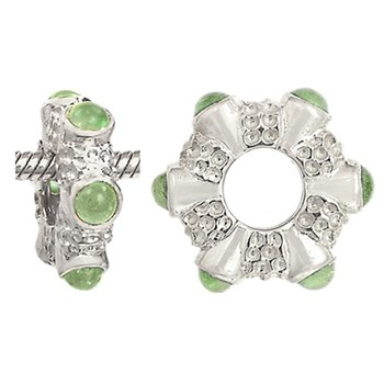 Storywheels Peridot 14K White Gold Wheel ONLY 5 AVAILABLE!-274968