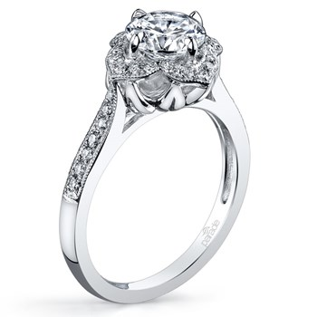 345268-Parade Vintage Design Diamond Ring