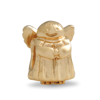 278904-PANDORA 14K Angel of Hope Charm